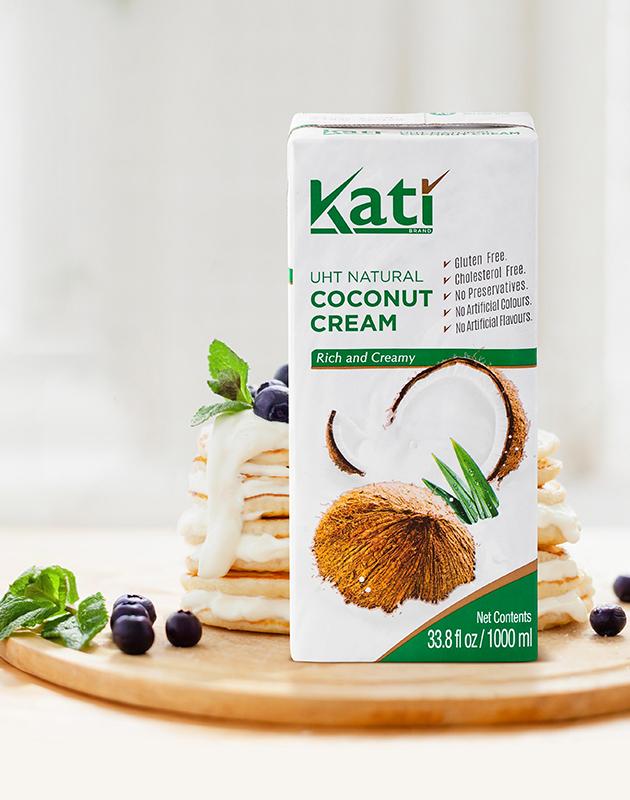 Растительные сливки KATI