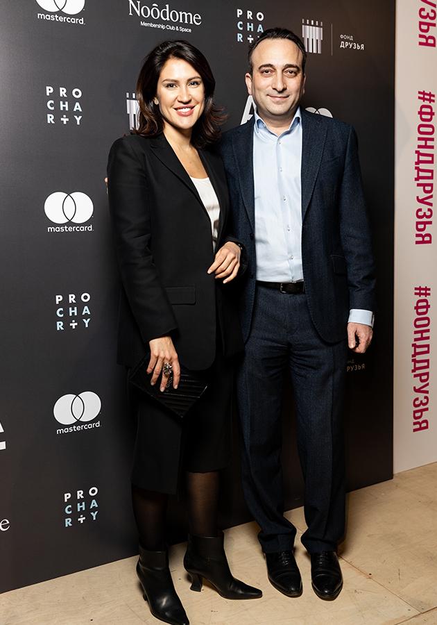 Мария Поденко и Гор Нахапетян