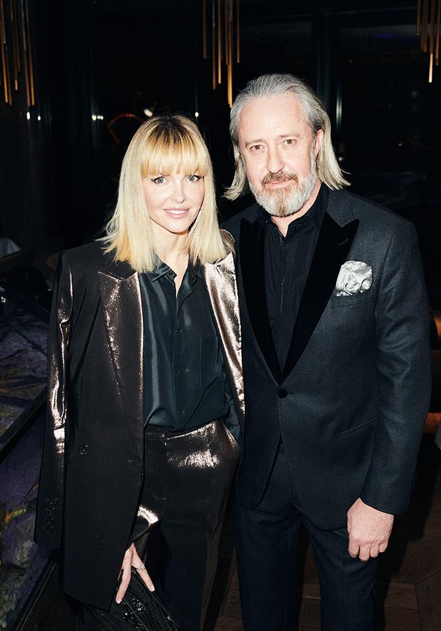 Елена Лесс с мужем Сергеем