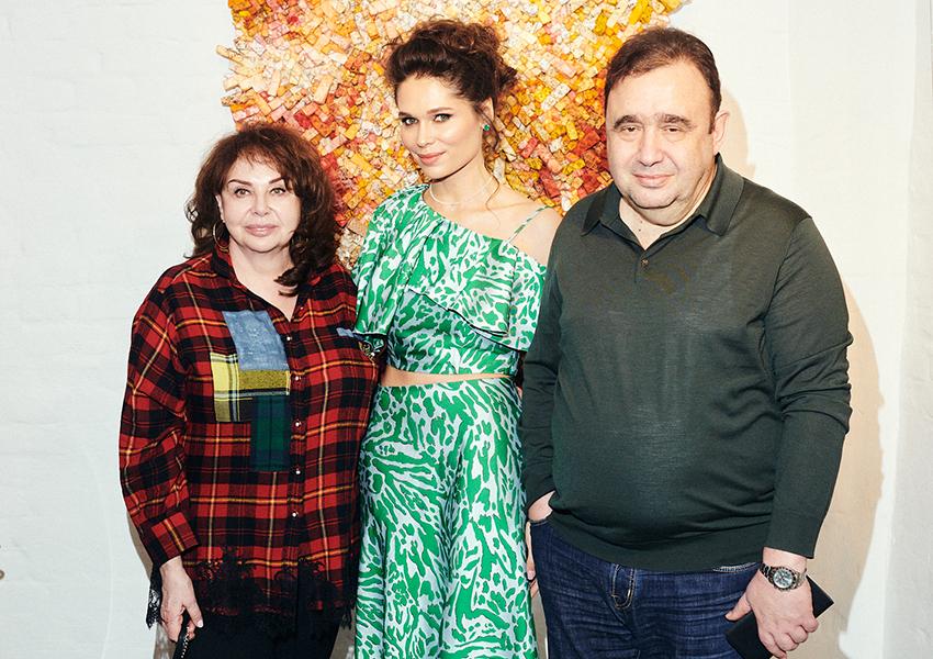 Марина Раппопорт, Полина-Аскери, Александр Раппопорт