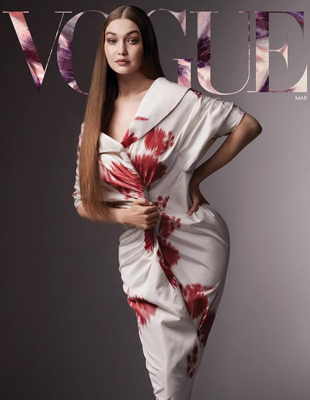 Джиджи Хадид открыла показ новой коллекции Versace