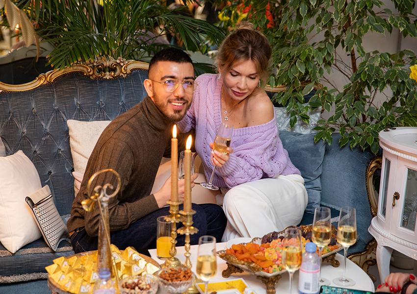 Фуад Мустафазаде и Ольга Коссински