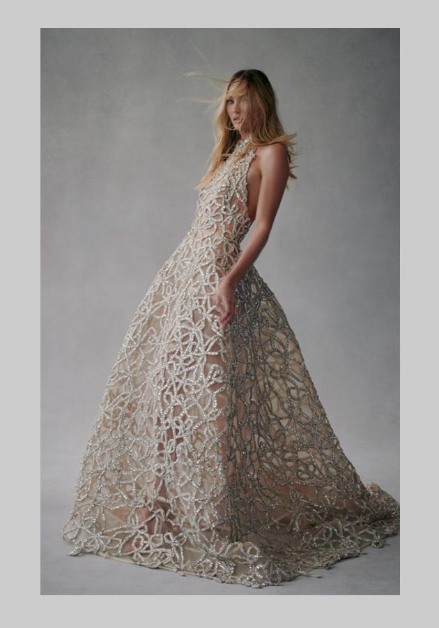 Oscar de la Renta осень 2021: идеальные платья для летних вечеринок