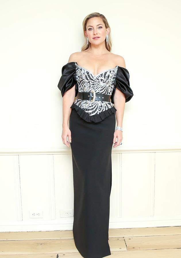 Кейт Хадсон в украшениях Bvlgari на церемонии вручения премии «Золотой Глобус-2021»
