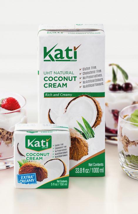 Три десерта с растительными сливками KATI — для вегетарианцев, ответственных родителей и гурманов