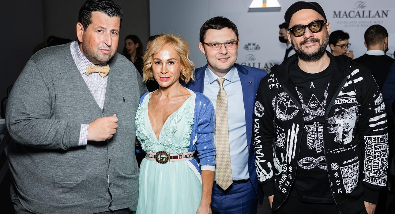 Ян Яновский, Василий Церетели с супругой, Кирилл Серебренников