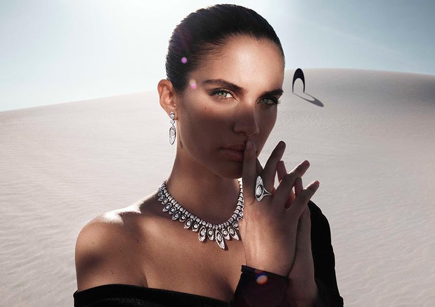 Лицом новой коллекции украшений Graff Tribal стала модель Сара Сампайо