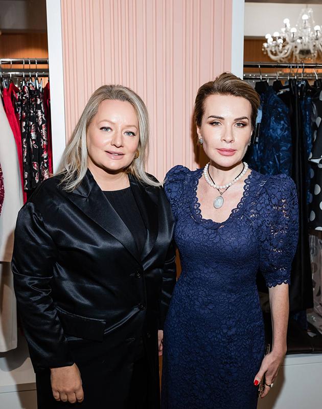 Татьяна Сабуренкова (Posta-Magazine) и Ольга Панченко