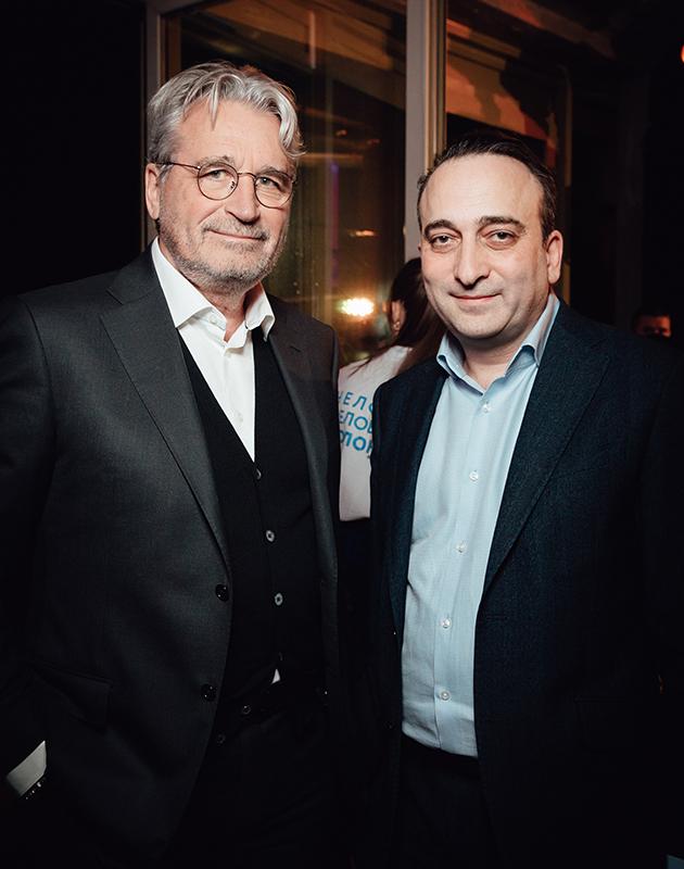 Олег Сысуев и Гор Нахапетян