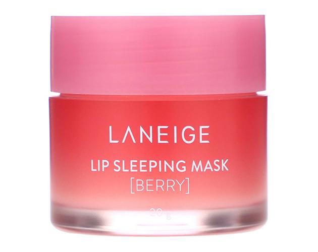 Laneige, Lip Sleeping Mask, ночная маска для губ, ягодная