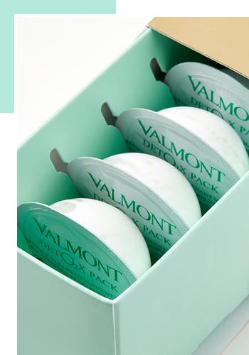 Детокс-маска кислородный уход Deto2x Pack от Valmont
