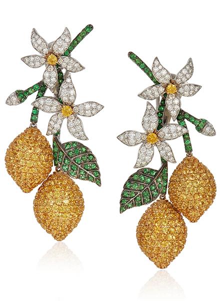 Онлайн-аукцион Christie's «Цветочный каприз: ювелирные украшения Микеле делла Валле» проходит с 3 по 17 марта 2021 года