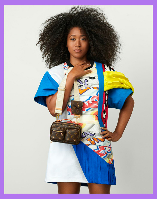 Louis Vuitton: Наоми Осака