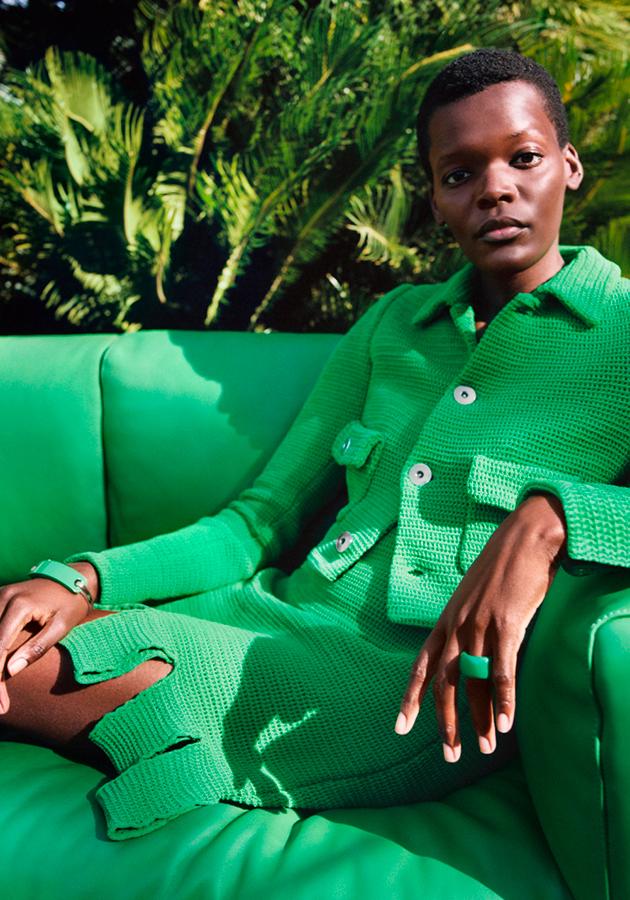 Такая разная красота в промо Bottega Veneta: Шила Атим