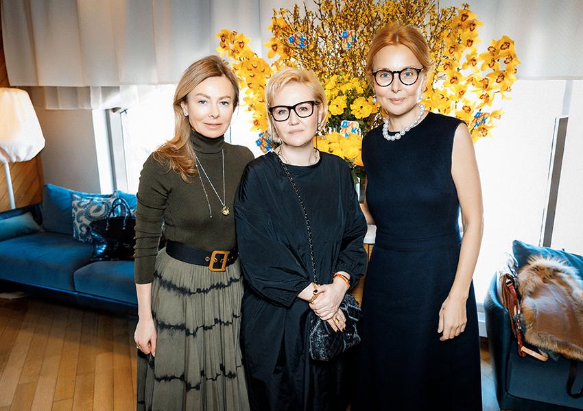 Елена Березкина, Мария Пиотровская, Ирина Почитаева
