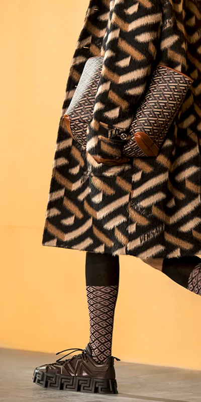Показ новой коллекции Versace