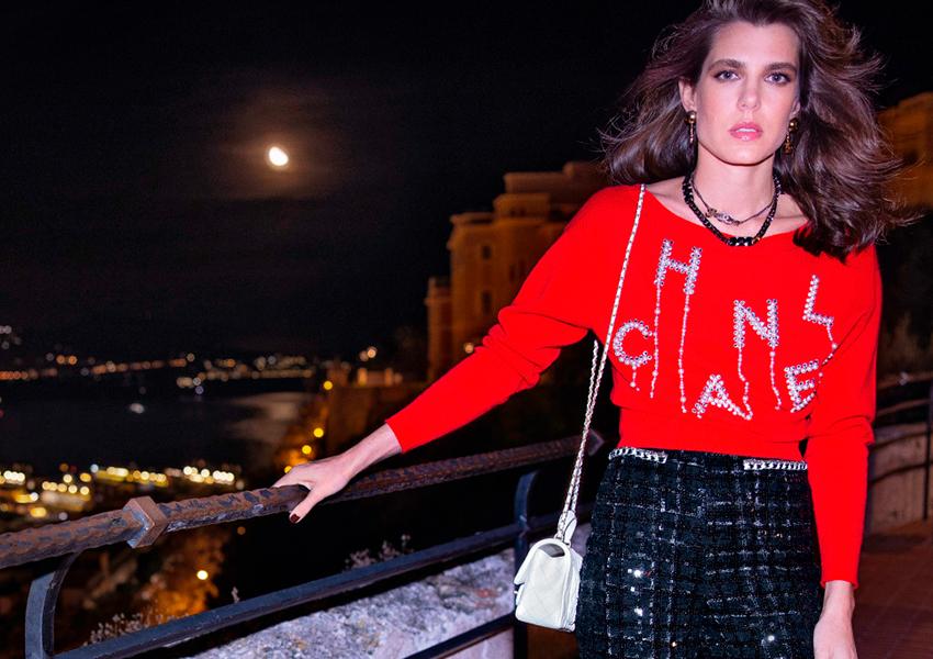 Сила классики: Шарлотта Казираги в роли амбассадора Chanel