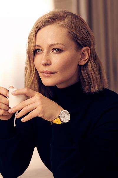 Юлия Пересильд, актриса, благотворитель и продюсер, куратор российского этапа конкурса и председатель жюри Nespresso Talents 2021