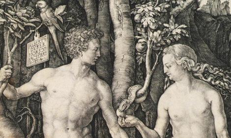#PostaИскусство. «Адам и Ева», «Блудный сын» и другие: выставка Дюрера в Государственном историческом музее