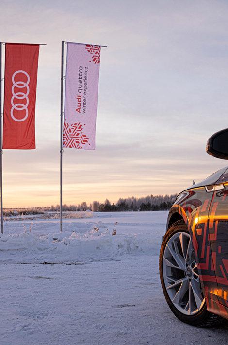 Авто с Яном Коомансом: озеро, зима, Audi — на этот раз в Тюмени!