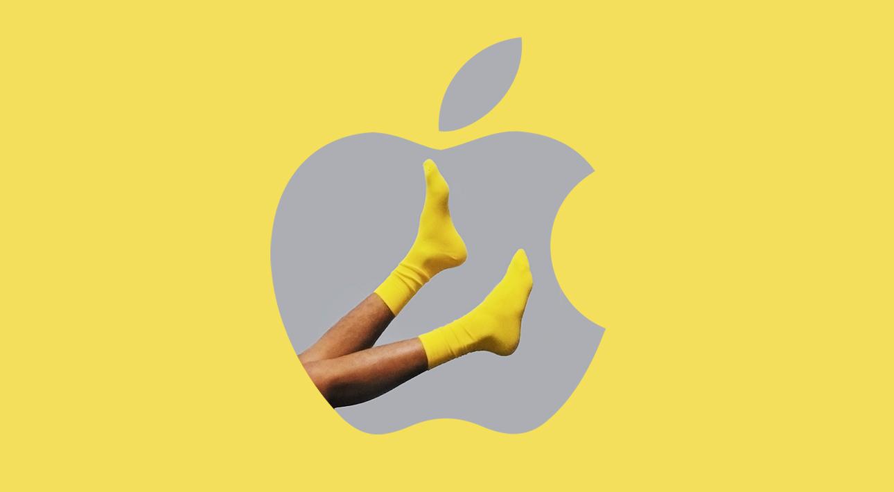 Hi-Tech: компания Apple зарегистрировала патент на создание «умных» носков