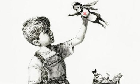 Картину Бэнкси Game Changer продали за рекордные 23 миллиона долларов