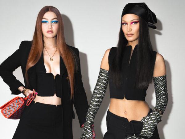 Versace: первый «выход» Джиджи Хадид на подиум после родов
