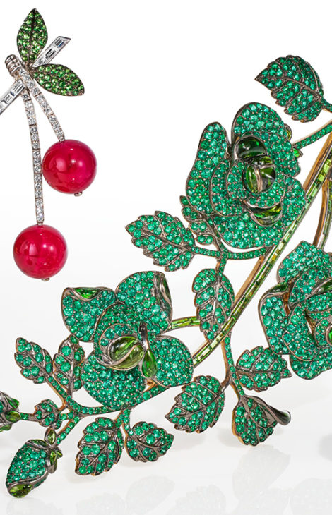 Онлайн-аукцион Christie's «Цветочный каприз: ювелирные украшения Микеле делла Валле» проходит с3по17марта 2021 года