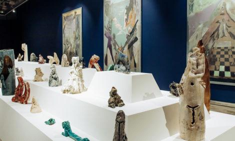 Открытие выставки-инсталляции Николая Кошелева в Государственной Третьяковской галерее