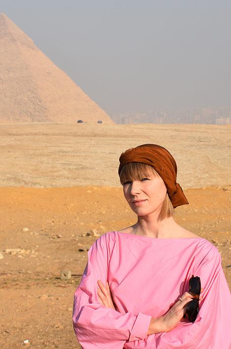 #PostaTravelNotes: дизайнер Вика Газинская — о путешествии в Египет