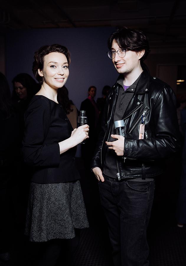 Евгения Милова и Александр Радаев