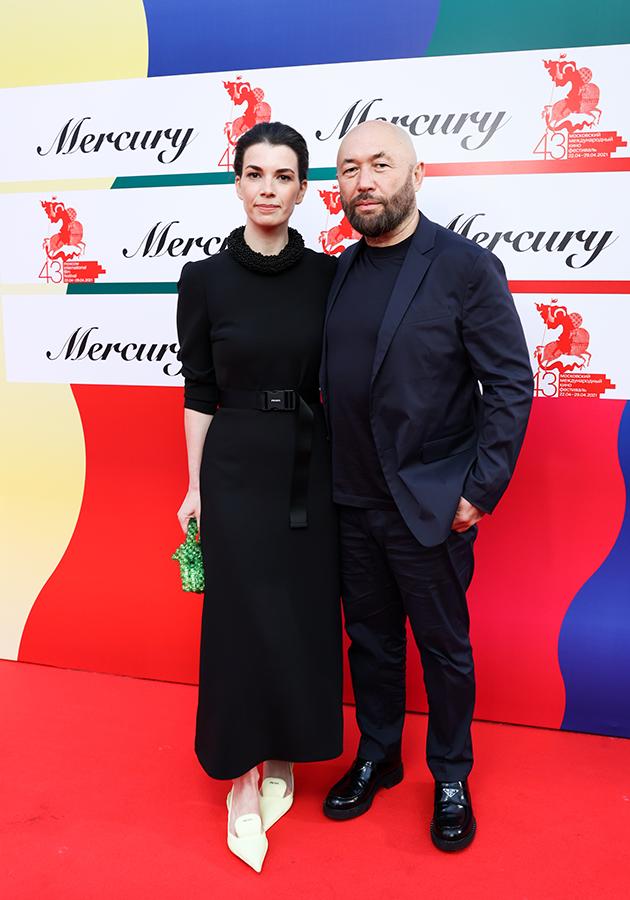 Наталия Фишман и Тимур Бекмамбетов