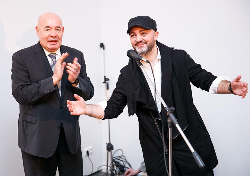 Михаил Швыдкой и Рафаэль Мегал
