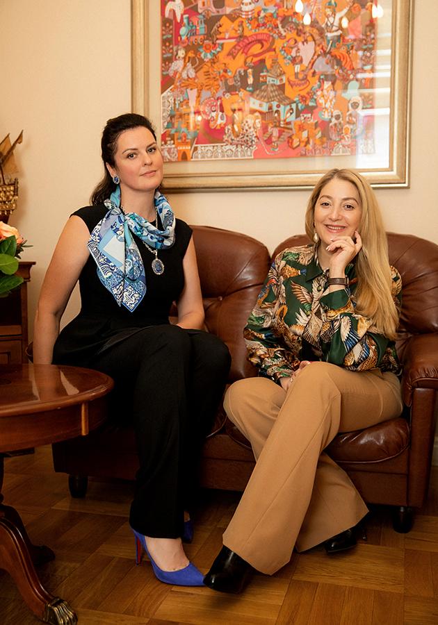 Юлия Ломоносова и Екатерина Гремячинская