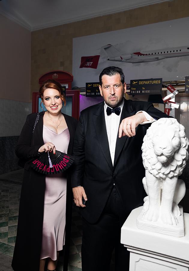 Лена Фейгин и Ян Яновский