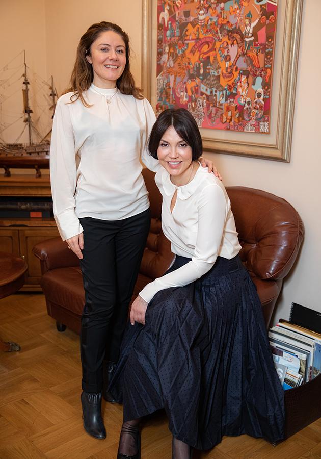 Наталия Кошевар и Татьяна Шевченко