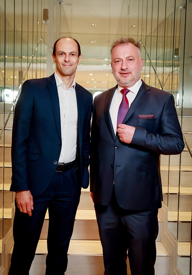 Александр Юрченко и Жан-Эммануэль Афота