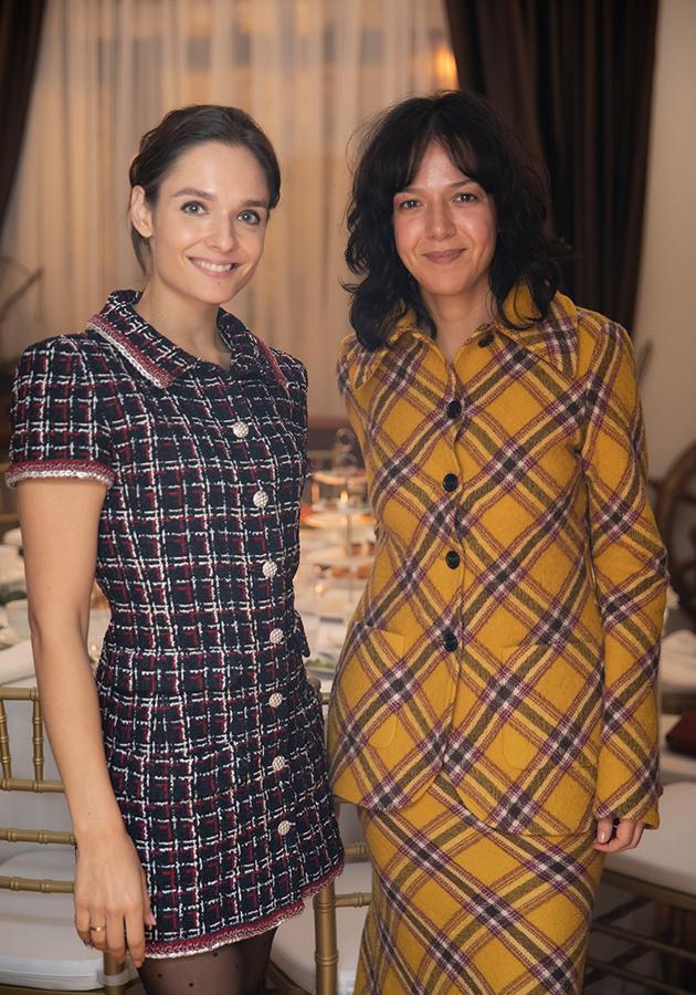 Юлия Прокип и Ксения Чилингарова