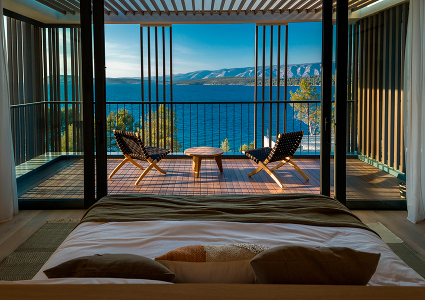 остров Хорватии и новый бутик-отель Maslina Resort