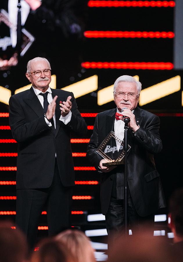 Никита Михалков и Сергей Никоненко