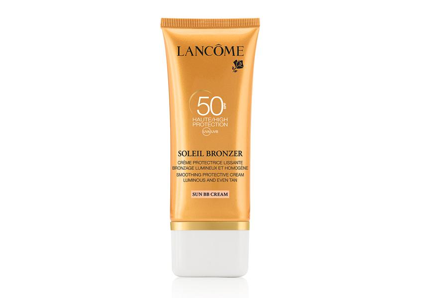 Увлажняющий солнцезащитный BB-крем для лица c тонирующим эффектом Soleil Bronzer SPF 50, Lancome