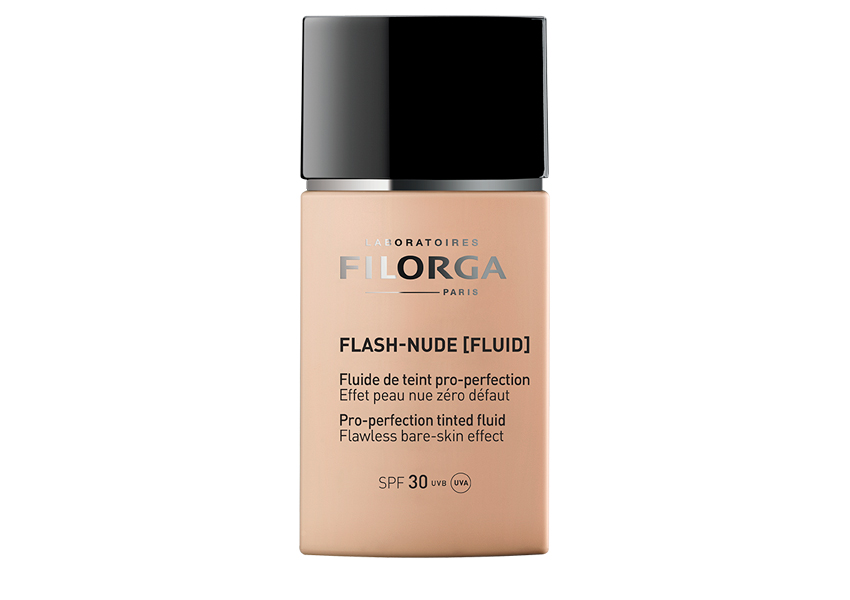 Тональный совершенствующий флюид Flash Nude SPF30, Filorga