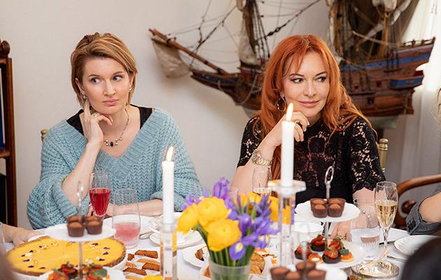 Марина Анохина и Елена Баранова
