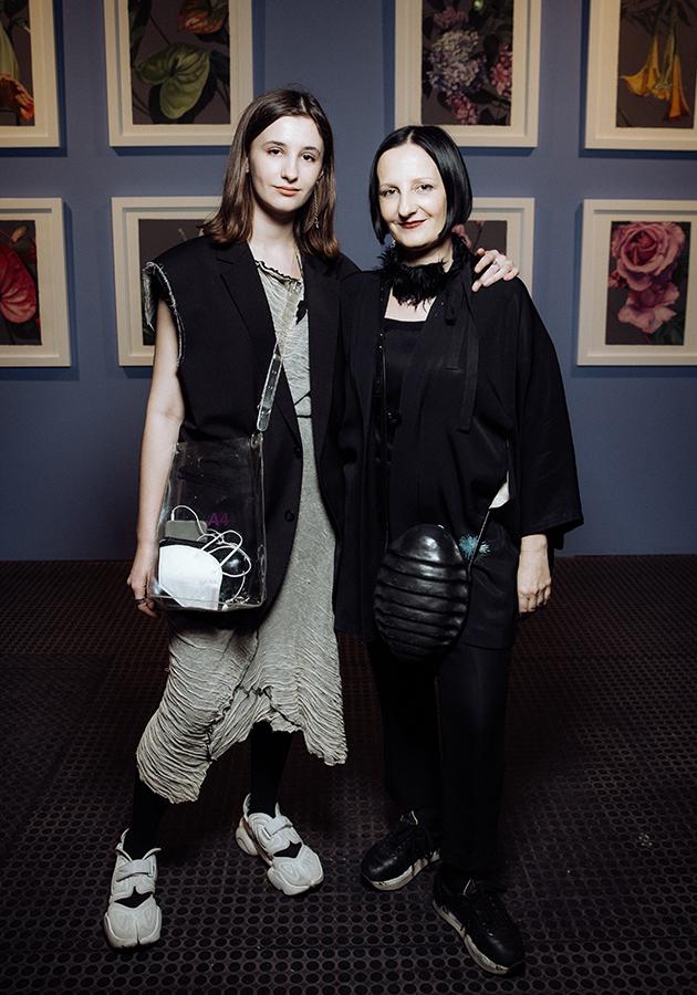 Светлана Тегин с дочерью