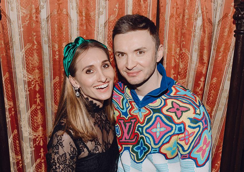 Анастасия Винокур и Евгений Заболотный
