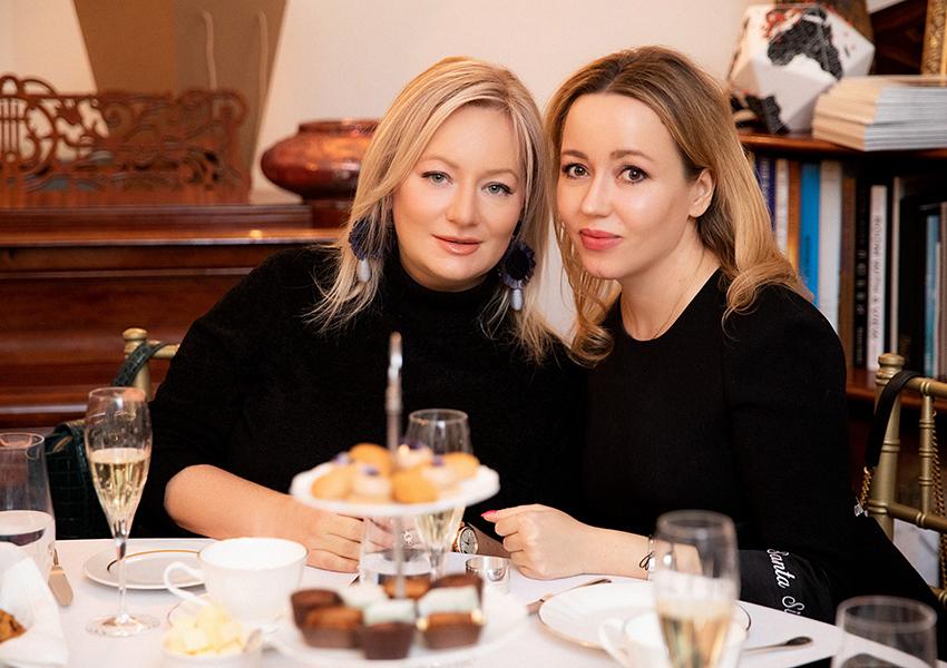 Татьяна Сабуренкова (Posta-Magazine) и Елена Гольцова (GG Beauty)