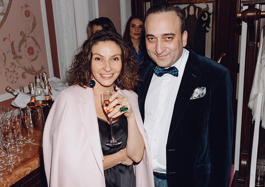 Наталья Синдеева, Гор Нахапетян