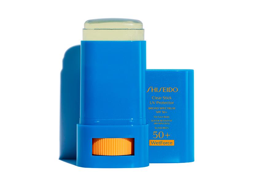 Солнцезащитный стик Clear Suncare Stick SPF 50 +, Shiseido