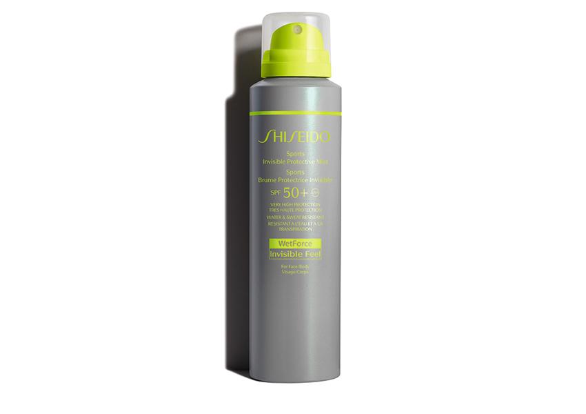 Невидимый солнцезащитный мист Sports Invisible Protective Mist SPF 50, Shiseido