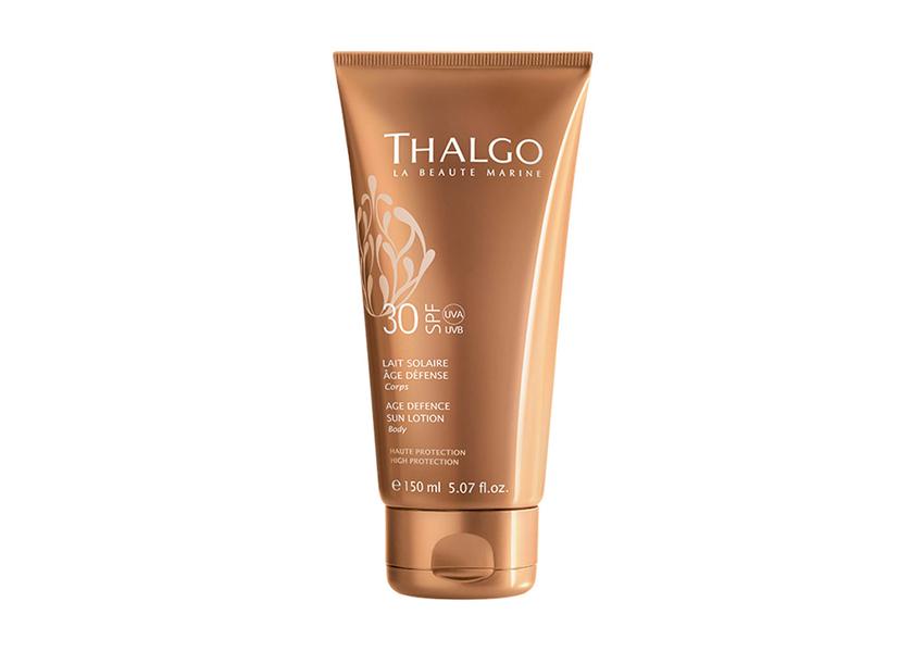 Антивозрастное cолнцезащитное молочко для тела Age Defence Sun Lotion SPF 30, Thalgo